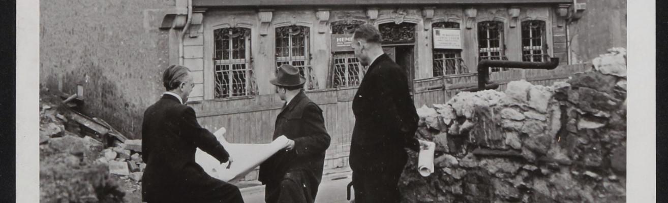 kellner beutler goethe haus 1951